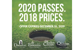 City of Spokane 2020 passes at 2018 prices